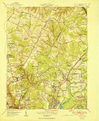 Download a high-resolution, GPS-compatible USGS topo map for Beltsville, MD (1951 edition)