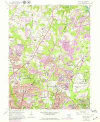 Download a high-resolution, GPS-compatible USGS topo map for Beltsville, MD (1979 edition)