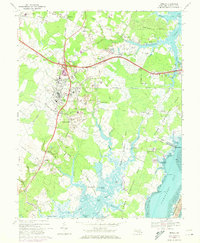 Download a high-resolution, GPS-compatible USGS topo map for Berlin, MD (1973 edition)