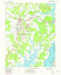 Download a high-resolution, GPS-compatible USGS topo map for Berlin, MD (1982 edition)