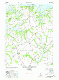 Download a high-resolution, GPS-compatible USGS topo map for Betterton, MD (1977 edition)