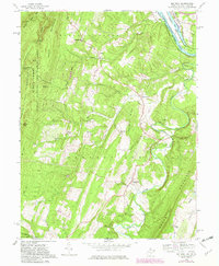 Download a high-resolution, GPS-compatible USGS topo map for Big Pool, MD (1982 edition)
