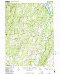 Download a high-resolution, GPS-compatible USGS topo map for Big Pool, MD (1999 edition)
