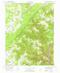 Download a high-resolution, GPS-compatible USGS topo map for Bittinger, MD (1975 edition)