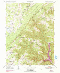 Download a high-resolution, GPS-compatible USGS topo map for Bittinger, MD (1990 edition)
