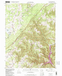 Download a high-resolution, GPS-compatible USGS topo map for Bittinger, MD (1999 edition)