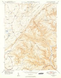 Download a high-resolution, GPS-compatible USGS topo map for Bittinger, MD (1949 edition)