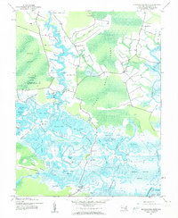 Download a high-resolution, GPS-compatible USGS topo map for Blackwater River, MD (1962 edition)