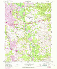 Download a high-resolution, GPS-compatible USGS topo map for Bowie, MD (1978 edition)