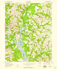 Download a high-resolution, GPS-compatible USGS topo map for Bristol, MD (1958 edition)