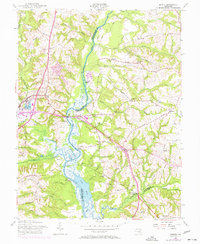 Download a high-resolution, GPS-compatible USGS topo map for Bristol, MD (1957 edition)