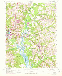 Download a high-resolution, GPS-compatible USGS topo map for Bristol, MD (1972 edition)