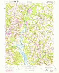 Download a high-resolution, GPS-compatible USGS topo map for Bristol, MD (1979 edition)
