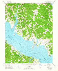 Download a high-resolution, GPS-compatible USGS topo map for Broomes Island, MD (1964 edition)