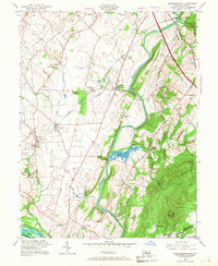Download a high-resolution, GPS-compatible USGS topo map for Buckeystown, MD (1968 edition)
