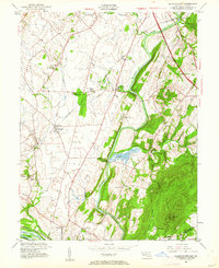 Download a high-resolution, GPS-compatible USGS topo map for Buckeystown, MD (1961 edition)