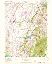 Download a high-resolution, GPS-compatible USGS topo map for Buckeystown, MD (1972 edition)