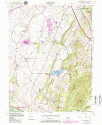 Download a high-resolution, GPS-compatible USGS topo map for Buckeystown, MD (1984 edition)