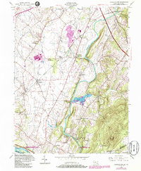 Download a high-resolution, GPS-compatible USGS topo map for Buckeystown, MD (1986 edition)