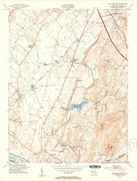Download a high-resolution, GPS-compatible USGS topo map for Buckeystown, MD (1953 edition)