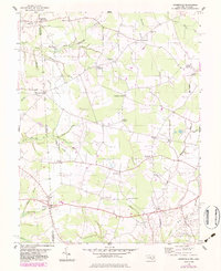 Download a high-resolution, GPS-compatible USGS topo map for Burrsville, MD (1983 edition)