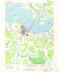 Download a high-resolution, GPS-compatible USGS topo map for Cambridge, MD (1970 edition)