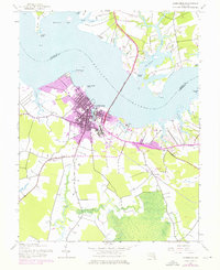 Download a high-resolution, GPS-compatible USGS topo map for Cambridge, MD (1976 edition)