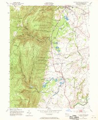 Download a high-resolution, GPS-compatible USGS topo map for Catoctin Furnace, MD (1970 edition)