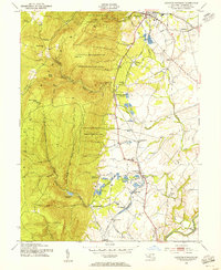 Download a high-resolution, GPS-compatible USGS topo map for Catoctin Furnace, MD (1955 edition)