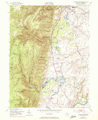 Download a high-resolution, GPS-compatible USGS topo map for Catoctin Furnace, MD (1972 edition)
