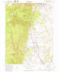 Download a high-resolution, GPS-compatible USGS topo map for Catoctin Furnace, MD (1979 edition)