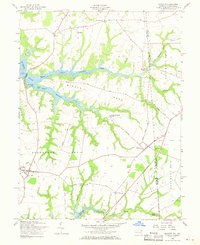 Download a high-resolution, GPS-compatible USGS topo map for Cecilton, MD (1968 edition)