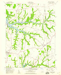Download a high-resolution, GPS-compatible USGS topo map for Cecilton, MD (1959 edition)