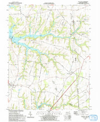 Download a high-resolution, GPS-compatible USGS topo map for Cecilton, MD (1993 edition)