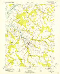 Download a high-resolution, GPS-compatible USGS topo map for Centreville, MD (1955 edition)