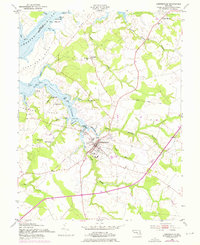Download a high-resolution, GPS-compatible USGS topo map for Centreville, MD (1976 edition)