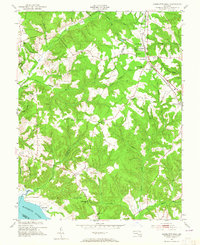 Download a high-resolution, GPS-compatible USGS topo map for Charlotte Hall, MD (1965 edition)