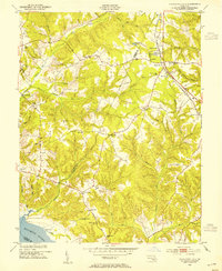 Download a high-resolution, GPS-compatible USGS topo map for Charlotte Hall, MD (1954 edition)
