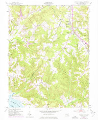 Download a high-resolution, GPS-compatible USGS topo map for Charlotte Hall, MD (1977 edition)