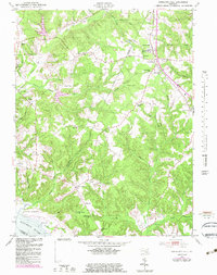 Download a high-resolution, GPS-compatible USGS topo map for Charlotte Hall, MD (1983 edition)