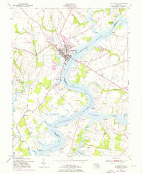 Download a high-resolution, GPS-compatible USGS topo map for Chestertown, MD (1976 edition)