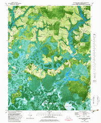 Download a high-resolution, GPS-compatible USGS topo map for Chicamacomico River, MD (1983 edition)