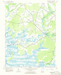 Download a high-resolution, GPS-compatible USGS topo map for Chicamacomico, MD (1971 edition)