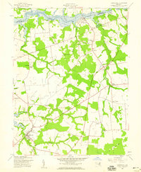 Download a high-resolution, GPS-compatible USGS topo map for Church Hill, MD (1959 edition)