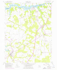 Download a high-resolution, GPS-compatible USGS topo map for Church Hill, MD (1976 edition)