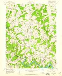 Download a high-resolution, GPS-compatible USGS topo map for Clarksville, MD (1960 edition)