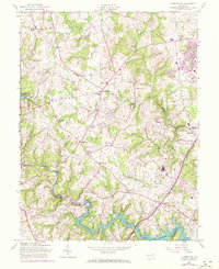 Download a high-resolution, GPS-compatible USGS topo map for Clarksville, MD (1972 edition)