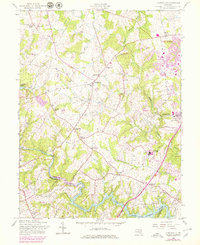 Download a high-resolution, GPS-compatible USGS topo map for Clarksville, MD (1979 edition)