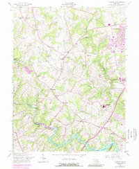 Download a high-resolution, GPS-compatible USGS topo map for Clarksville, MD (1989 edition)