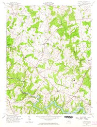 Download a high-resolution, GPS-compatible USGS topo map for Clarksville, MD (1966 edition)